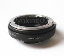 mount Pentax DA-Leica M