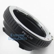 mount pentax PK-Leica M