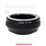 mount pentax PK-M4/3 FOTGA