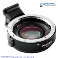 Mount Viltrox EF-E II AF focal reducer speed booster