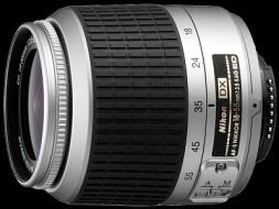 Nikon 18-55f3.5-5.6 G ED silver