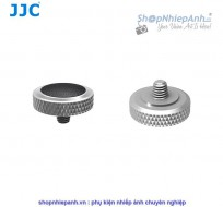 Nút bấm kim loại cao cấp JJC SRB series bạc đen