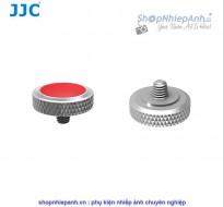 Nút bấm kim loại cao cấp JJC SRB series bạc đỏ