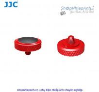 Nút bấm kim loại cao cấp JJC SRB series đỏ đen