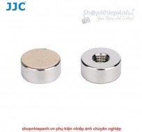 Nút dán shutter button Kim Loại JJC có ren (silver)
