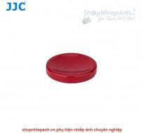 Nút dán shutter button Kim Loại JJC (Đỏ)