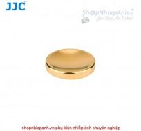 Nút dán shutter button Kim Loại JJC (vàng)