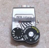 Petri CdS meter
