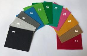 Phông vải màu India cao cấp (vải pha nhựa)