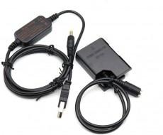 Pin ảo Dummy Nikon EN-EL14 nguồn USB