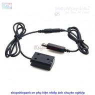 Pin ảo FW50 dummy nguồn USB (dùng sạc dự phòng và nguồn trực tiếp)