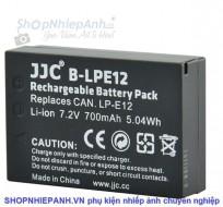 Pin JJC LP-E12 for canon eos 100D, eos M, M2, M10, M100