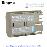 Pin Kingma for Canon BP-511A 1600mah