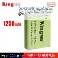 Pin Kingma for Canon NB-13L 1250mah
