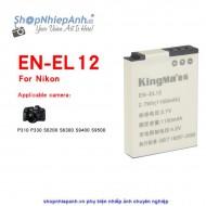 Pin Kingma for Nikon EN-EL12 1150mah (P310 S610 S610c S710 S620 S630 S8000 S6000 S9500)