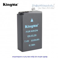 Pin Kingma for Nikon EN-EL20 850mah