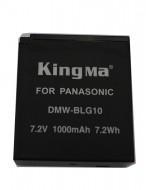 Pin Kingma for Panasonic BLE-9E  BLG-10 for Panasonic DMW-BLG10 & DMW-BLE9E - Lumix GF3, S6, BLE9 & BLG10 DMC-GF6, GX7, TZ80, TZ100.