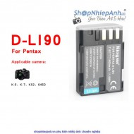 Pin Kingma for Pentax D-Li90 1600mah