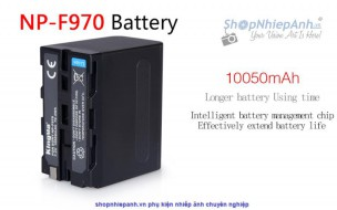 Pin Kingma for sony NP-F970 10050mah