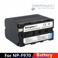 Pin Kingma for sony NP-F970 8190 mah