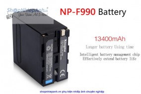 Pin Kingma for sony NP-F990 13400mah
