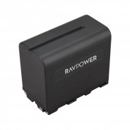 Pin RAVpower F970 for đèn led, máy quay