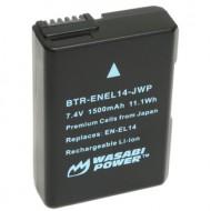 Pin WASABI EN-EL14 For Nikon D3200 D5300 D5500 P7800