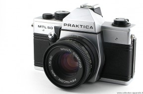 Praktica MTL50 và lens pentacon 50f1.8 (sưu tầm)