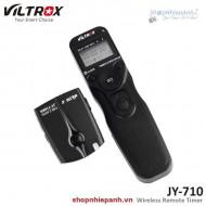 Remote wireless bấm phơi sáng Viltrox JY710 remote timer timelapse