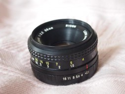 Ricoh rikenon XR 55f2.2 for PK