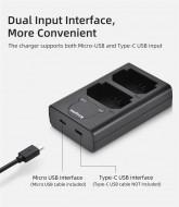 Sạc Kingma LCD Dual charger for Fujifilm NP-W235 (Fujifilm X-T4)