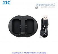 Sạc pin đôi JJC cho sony NP-FZ100 A9 A7 iii A7R iii
