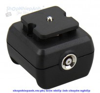 Shoe Adapters for portable flashes with PC female outlet
