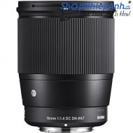 Sigma 16mm f/1.4 DC DN for Sony E-mount   Nhập khẩu