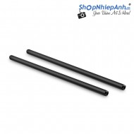 SmallRig 2pcs Black 19mm Rods 12 1234
