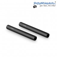 SmallRig Aluminum Alloy Pair of 15mm Rods (M12-4inch)1049