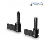 SmallRig Black Ratchet Wingnut with M5 thread(18mm) 2pcs Pack 1837