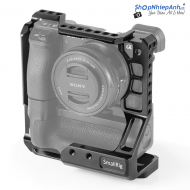 SmallRig Cage for Sony A6000/A6300/A6400/A6500 with Meike MK-A6300/A6500 Battery Grip CCS2268