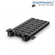 SMALLRIG Cheese Plate with Dual 15mm Rod Clamp 1093