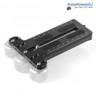 SmallRig Counterweight Mounting Plate (Manfrotto 501PL)for Zhiyun Weebill Lab and Crane2 BSS2277