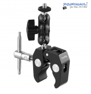 SmallRig Multi-Functional Crab-Shaped Clamp with Ballhead Arm 2161
