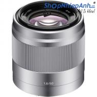 Sony E 50mm f/1.8 OSS Bạc SEL50F18 (Chính hãng)