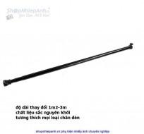 Thanh ngang treo phông (1m2-3m) sắt đen