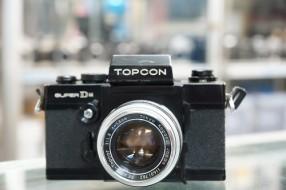 Topcon super DM và lens 58f1.8 ngàm exarkta