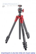 Tripod Manfrotto Compact Light Red