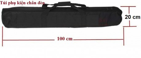 Túi Đựng Phụ Kiện Chân Đèn 100 CM