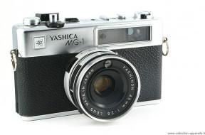 Yashica MG-1 không đo sáng